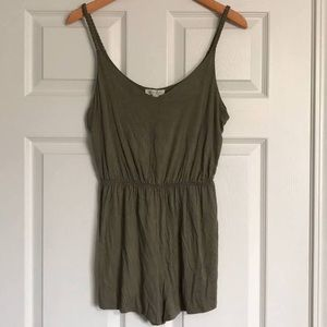 Olive Green Rompers
